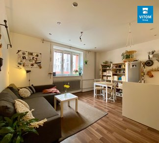 Pronájem bytu 2+kk, 43m² Úvoz, Brno - Veveří