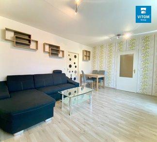 Podnájem světlého, prostorného bytu 3+1 s lodžií, 62 m2, Irkutská, Brno - Starý Lískovec