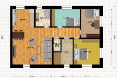 Prodej, Rodinné domy, 89m² - Tišice, Ev.č.: 00487